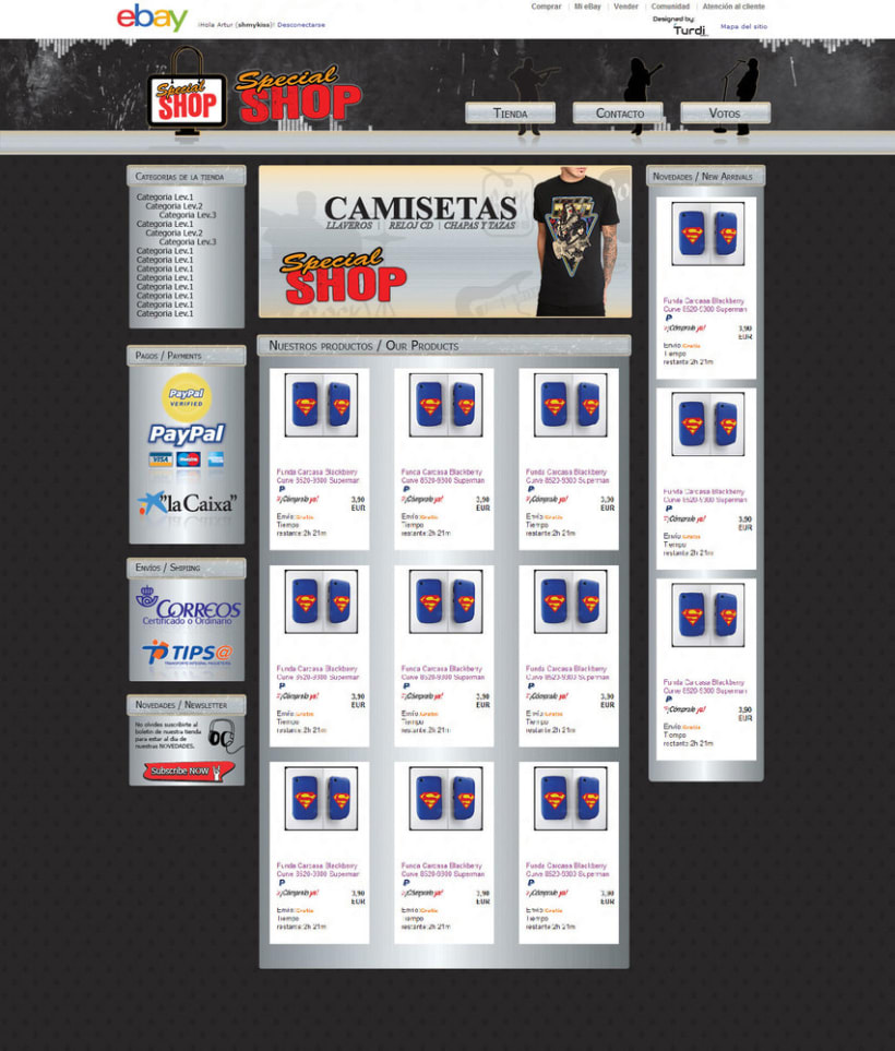 Diseño de tiendas eBay 1