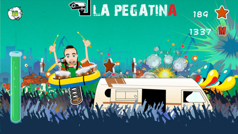 La Pegatina, The Game - videojuego para iOS y Android 2