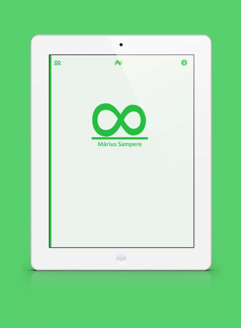 Infinit de Màrius Sampere - libro enriquecido para iPad e iPhone 1