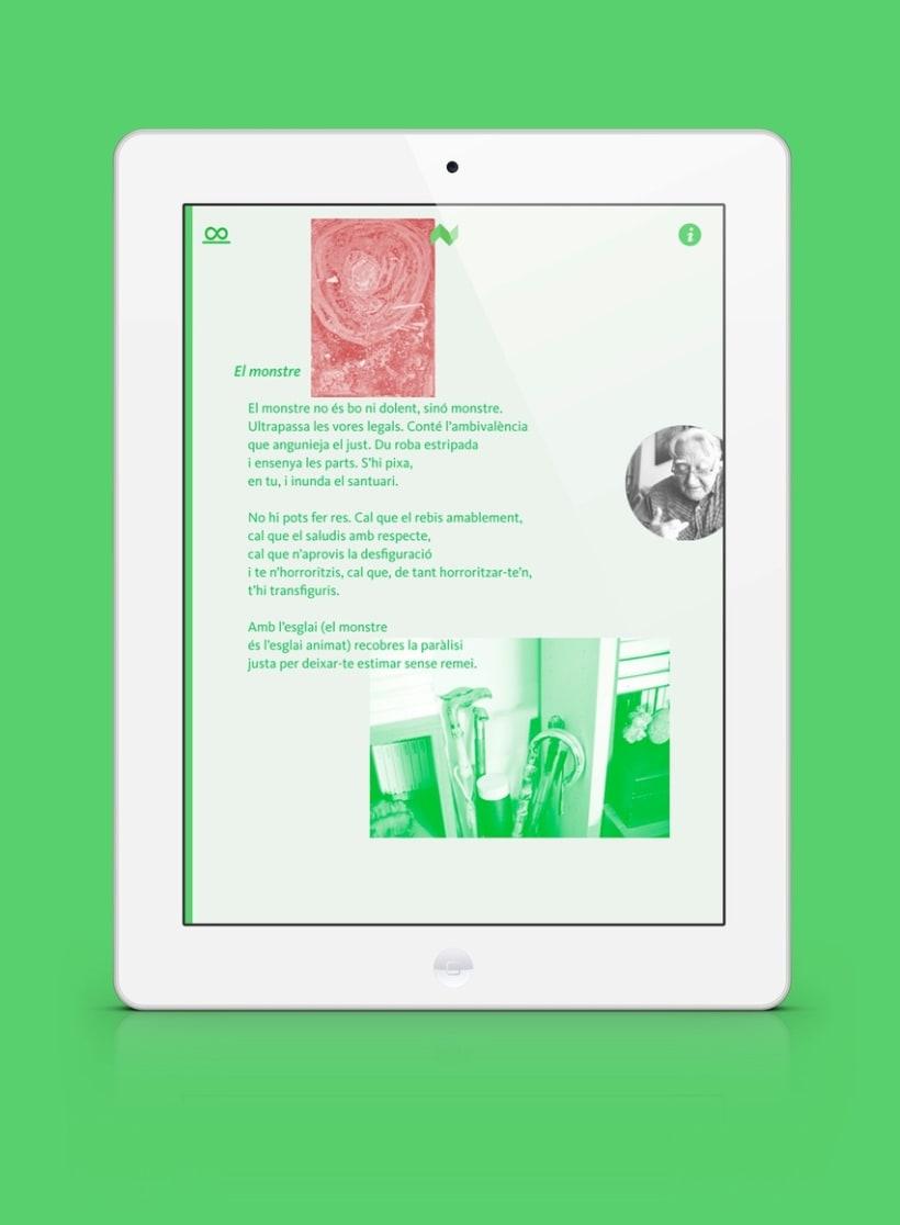 Infinit de Màrius Sampere - libro enriquecido para iPad e iPhone 2