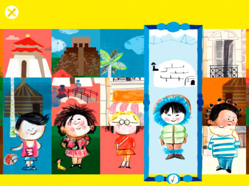 What I Like Most In The World - libro enriquecido infantil para iPad 1