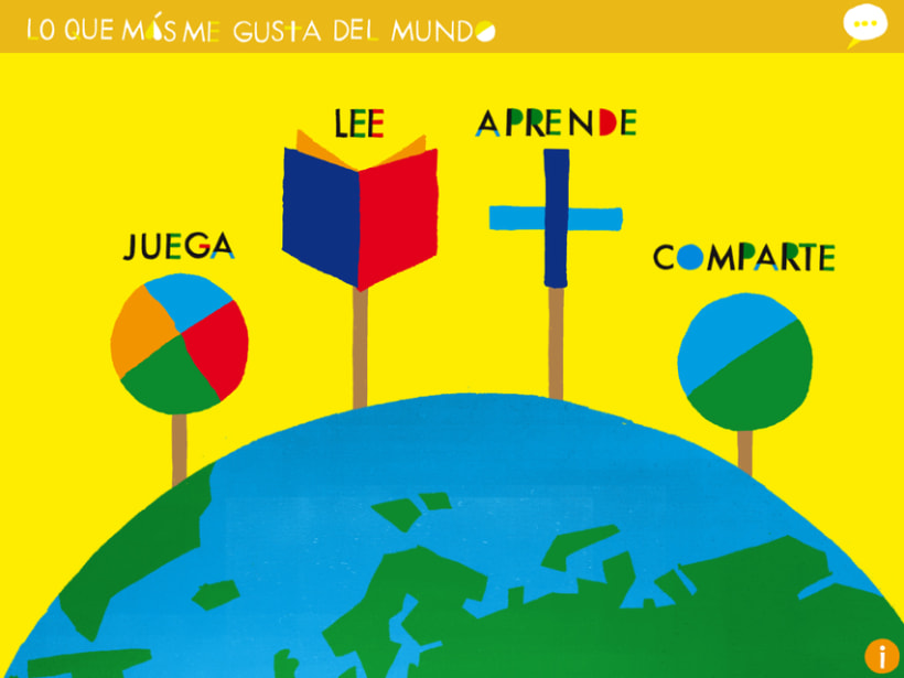 What I Like Most In The World - libro enriquecido infantil para iPad 0