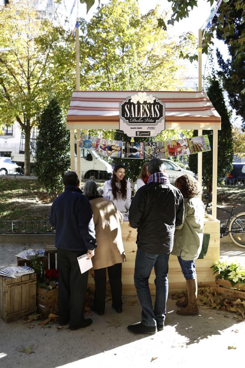 Identidad corporativa y materiales gráficos para SALESAS DOLCE VITA (patrocinado por Marie Claire) 6