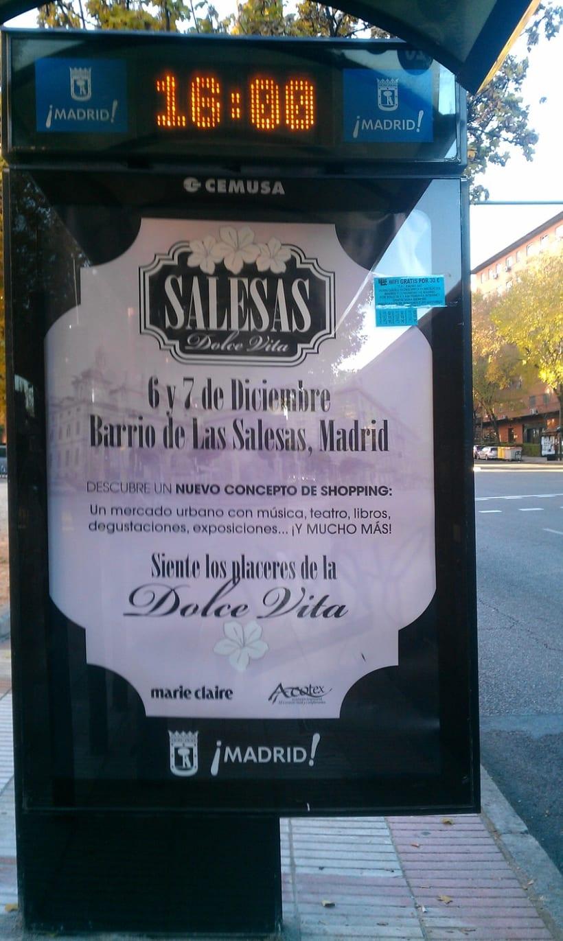 Identidad corporativa y materiales gráficos para SALESAS DOLCE VITA (patrocinado por Marie Claire) 3