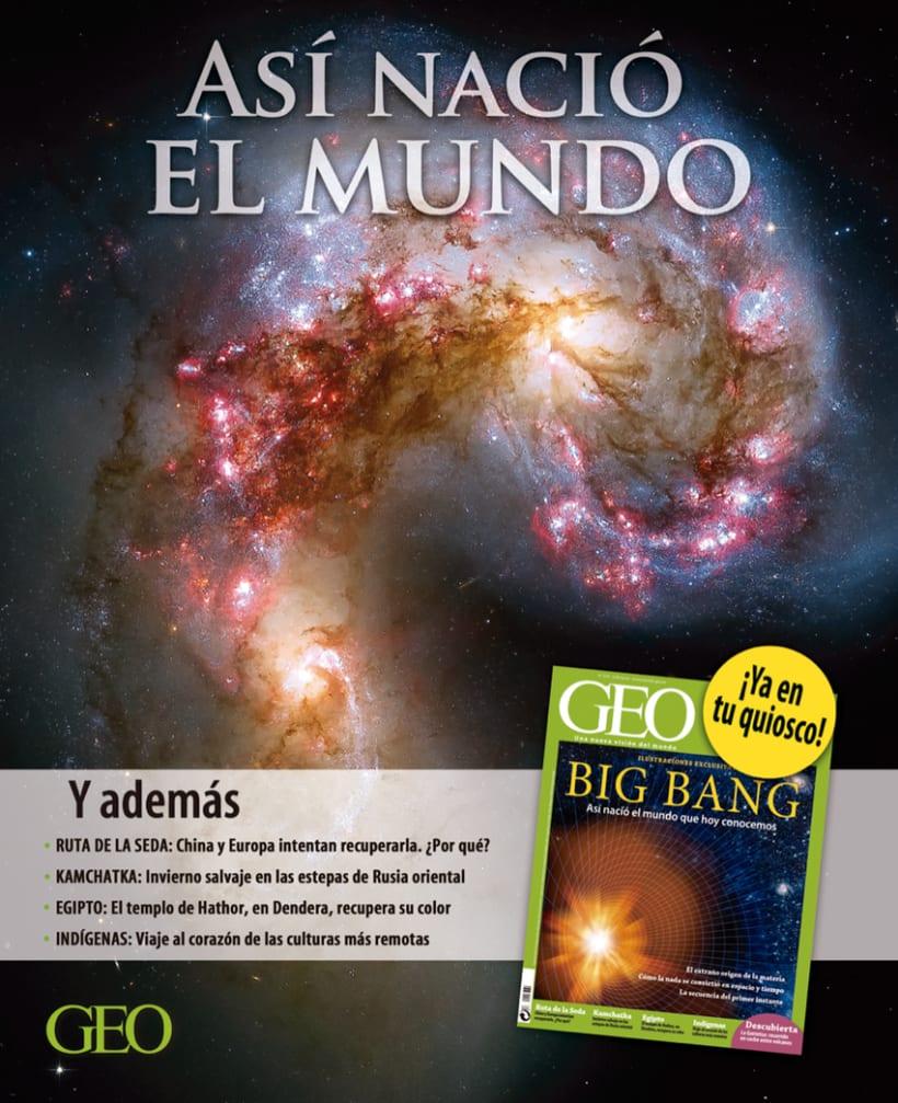Autopromociones de la revista GEO 3