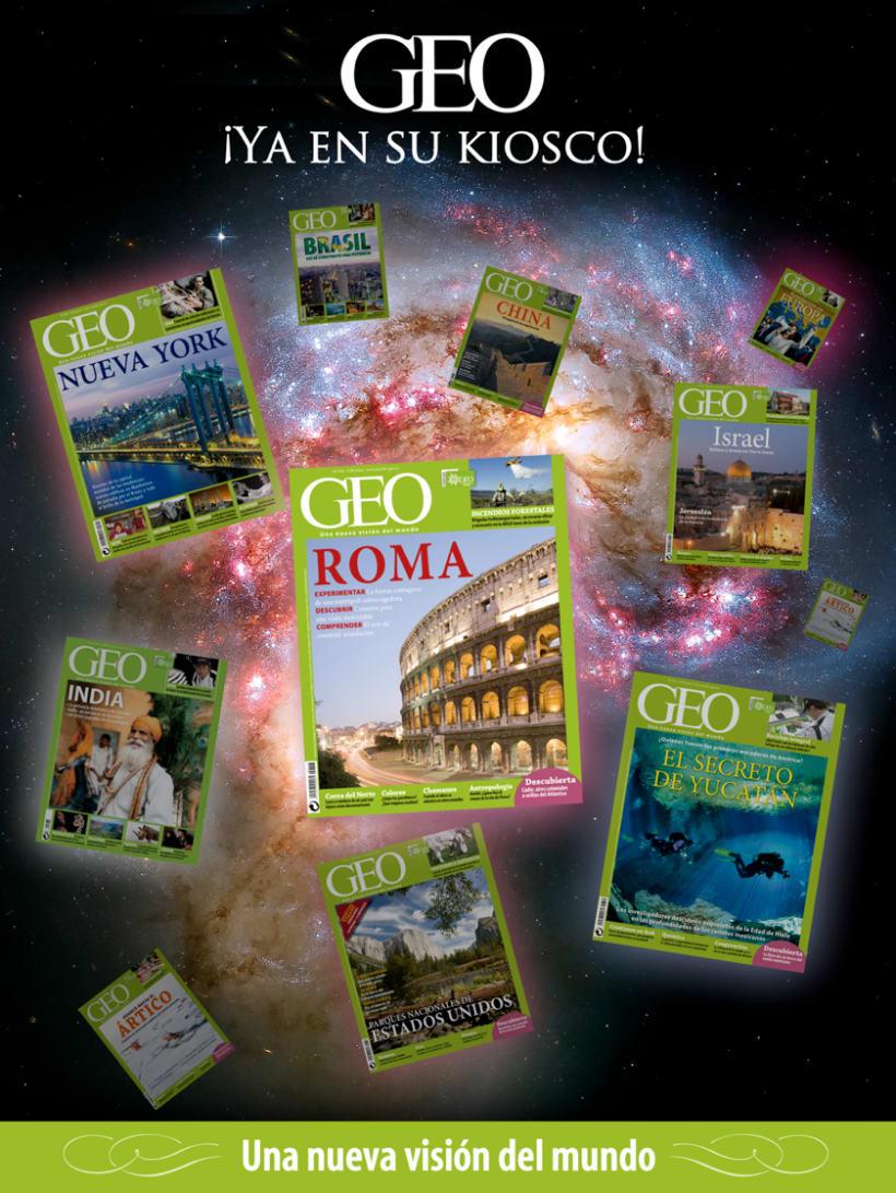 Autopromociones de la revista GEO 7