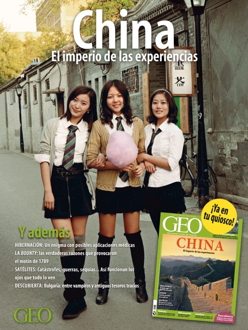 Autopromociones de la revista GEO 8