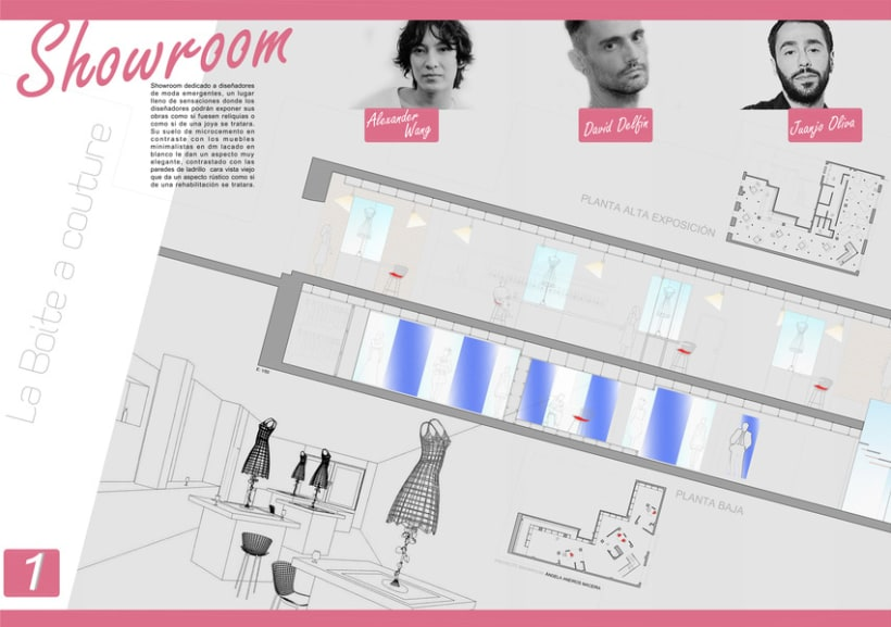 Showroom para diseñadores emergentes 1