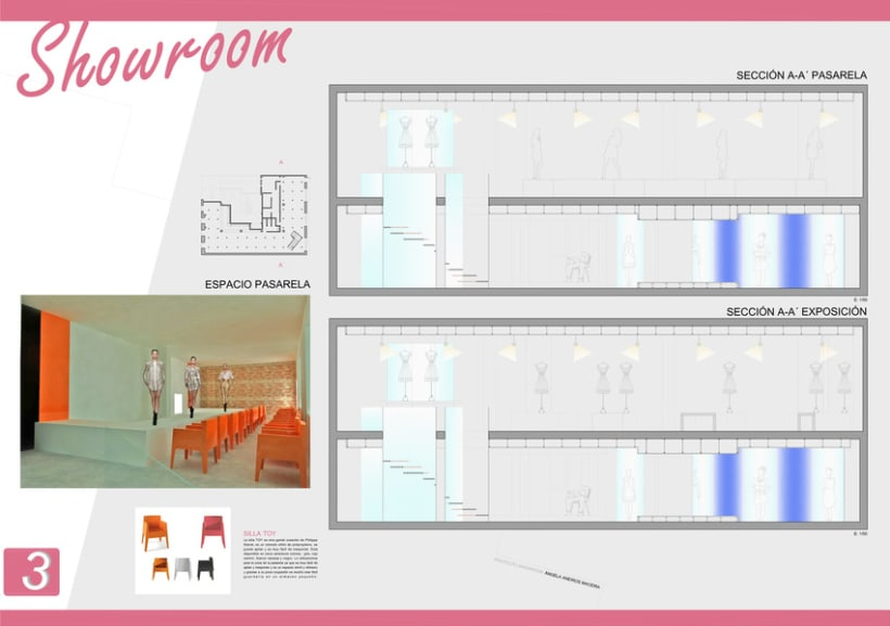 Showroom para diseñadores emergentes 3