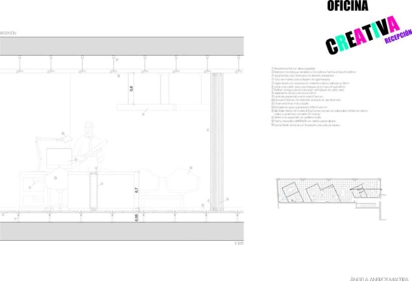 SECCIONES CONSTRUCTIVAS OFICINA 4