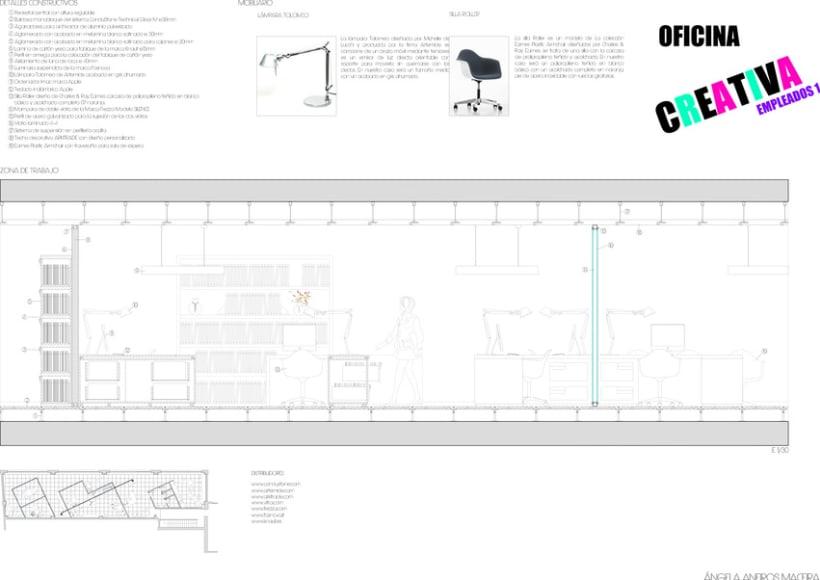SECCIONES CONSTRUCTIVAS OFICINA 5