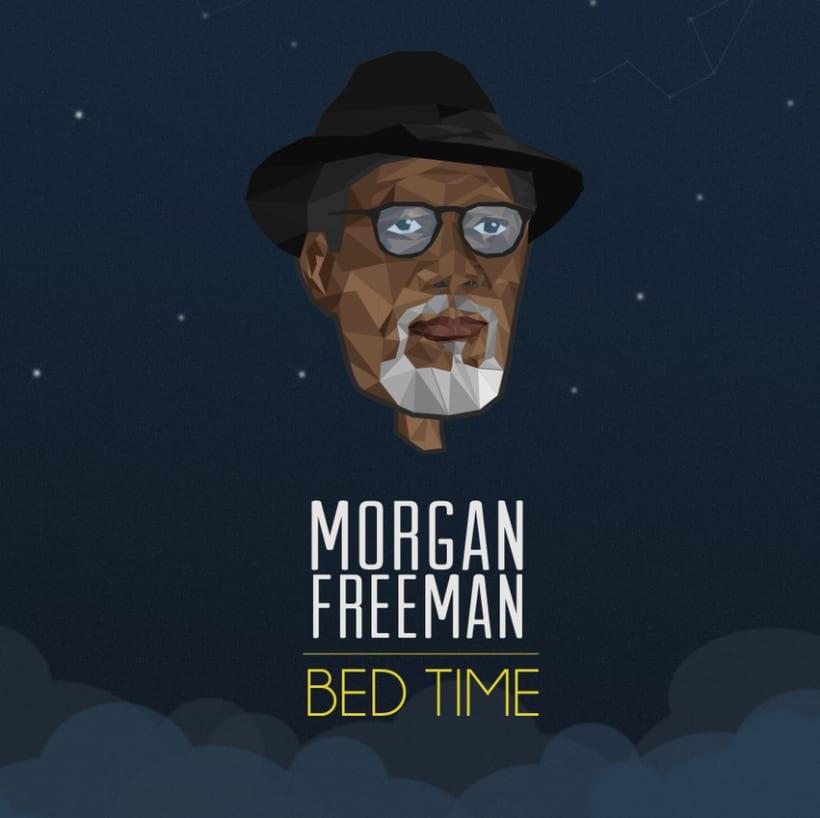 Morgan Freeman Bed Time 1