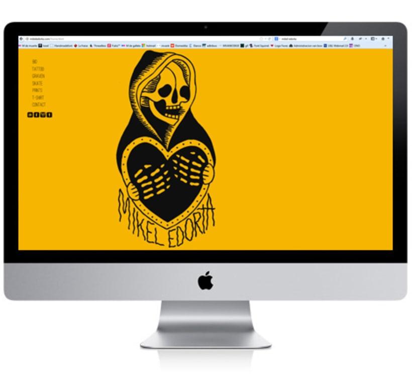 Mikel Edorta Tattoer Website 1