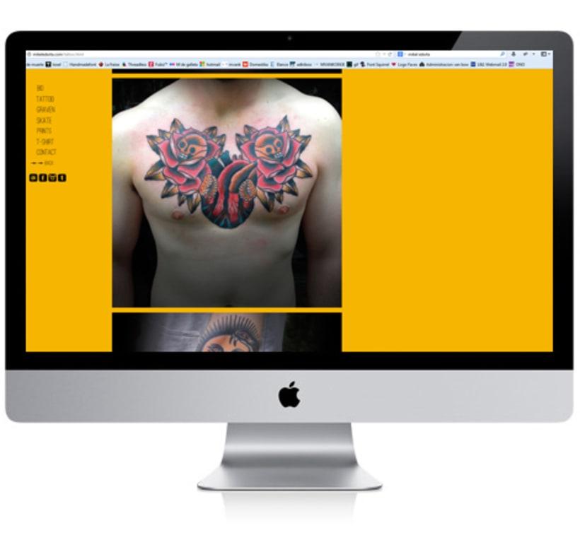 Mikel Edorta Tattoer Website 3