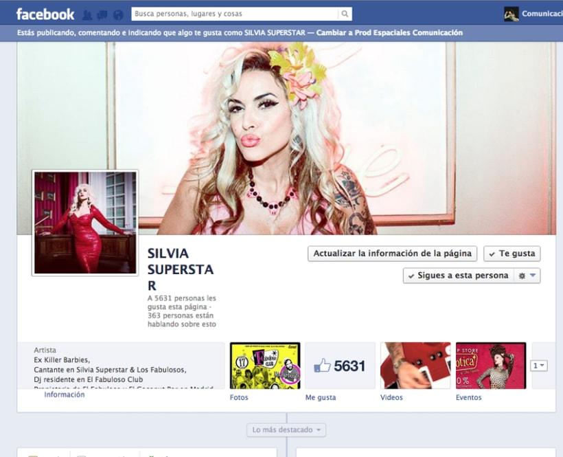Gestión redes sociales SILVIA SUPERSTAR -1
