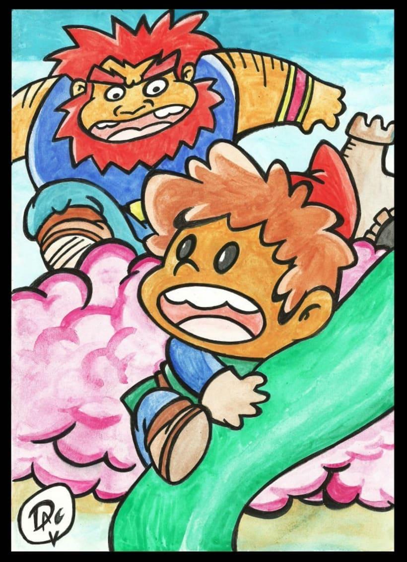 Dibujos de caracter infantil  1