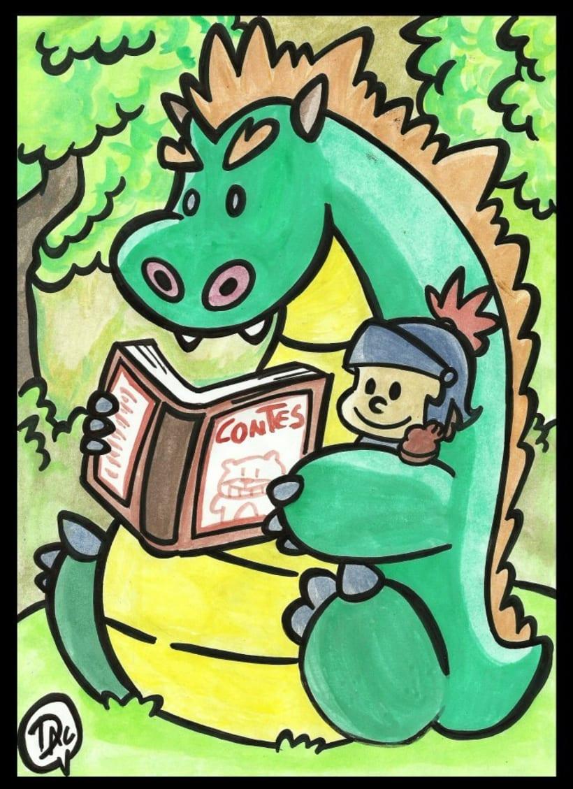 Dibujos de caracter infantil  4