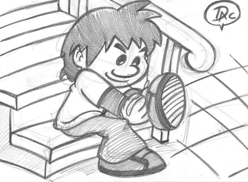 Dibujos de caracter infantil  7