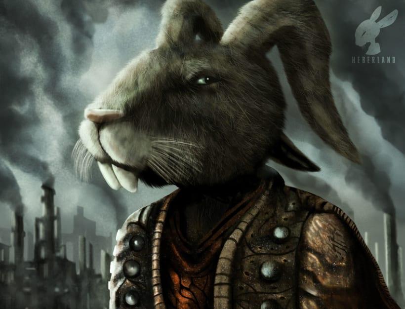 Crazy Rabbit by heberland -1