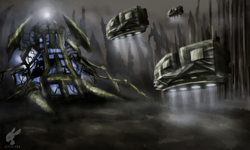 Alien Cathedral  0