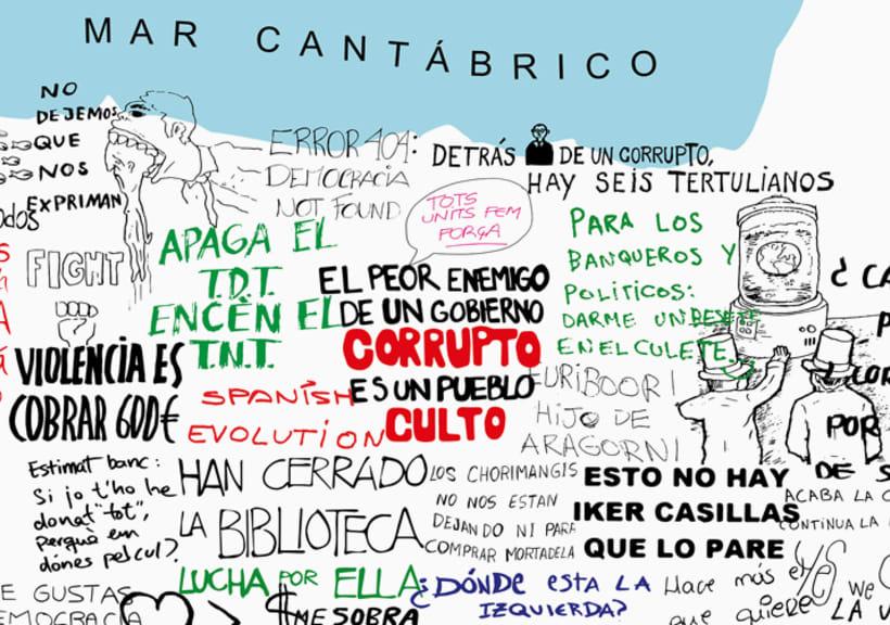 Mapa de España - Reivindicativo 2