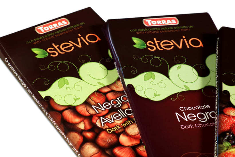 Gama de Chocolates Negros con Stevia Torras (2012) 6