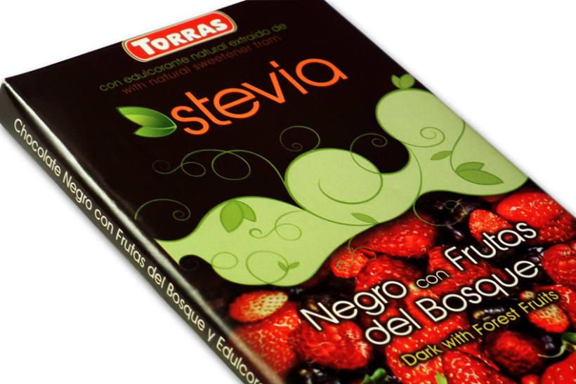 Gama de Chocolates Negros con Stevia Torras (2012) 9