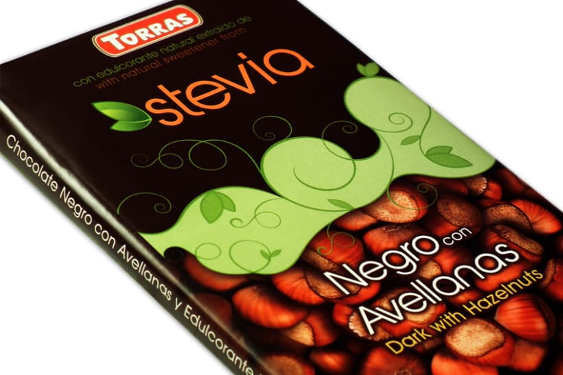 Gama de Chocolates Negros con Stevia Torras (2012) 8