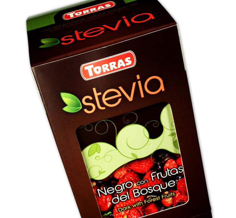 Gama de Chocolates Negros con Stevia Torras (2012) 11
