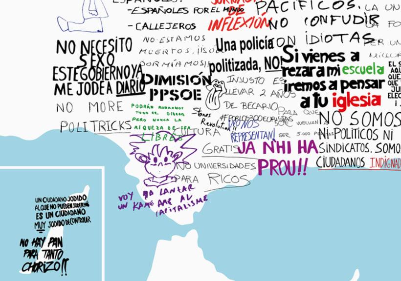 Mapa de España - Reivindicativo 4