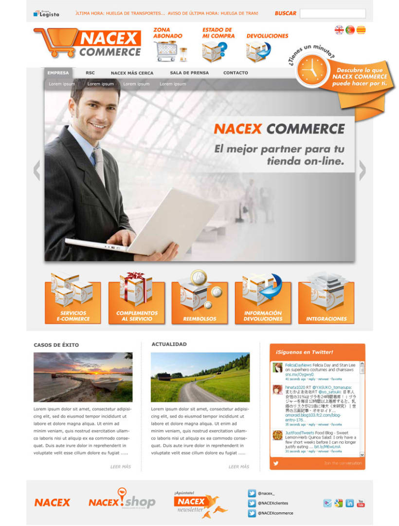 Web Nacex Commerce - propuesta (2012) 1