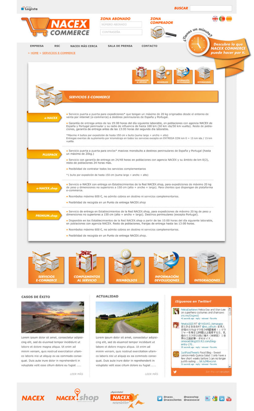 Web Nacex Commerce - propuesta (2012) 3