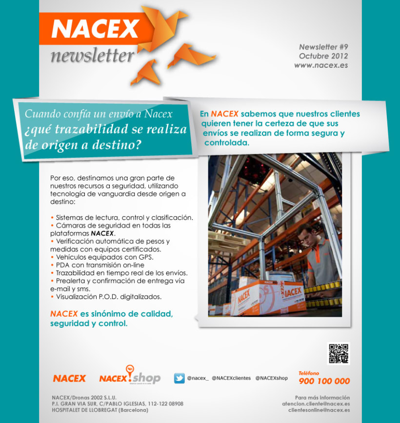 Newsletters Nacex (2012) 3