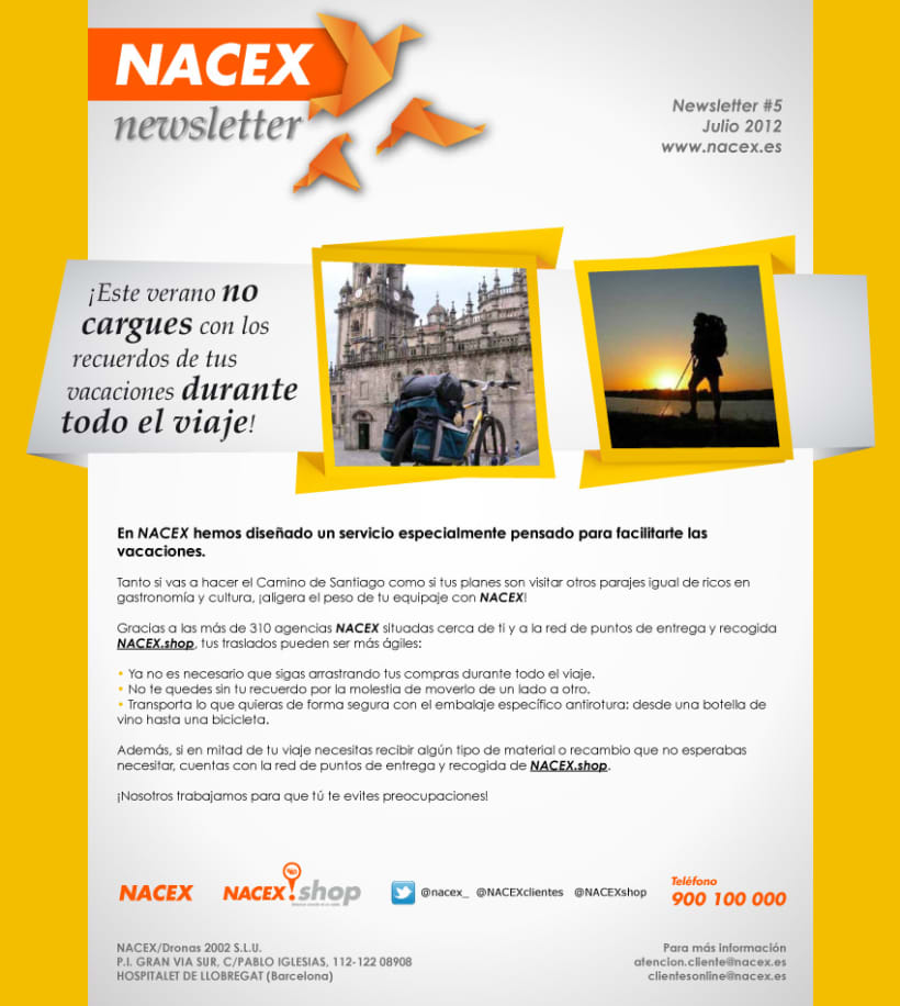 Newsletters Nacex (2012) 2