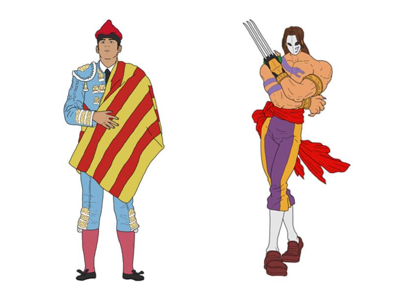 Los ilustres catalanes 1
