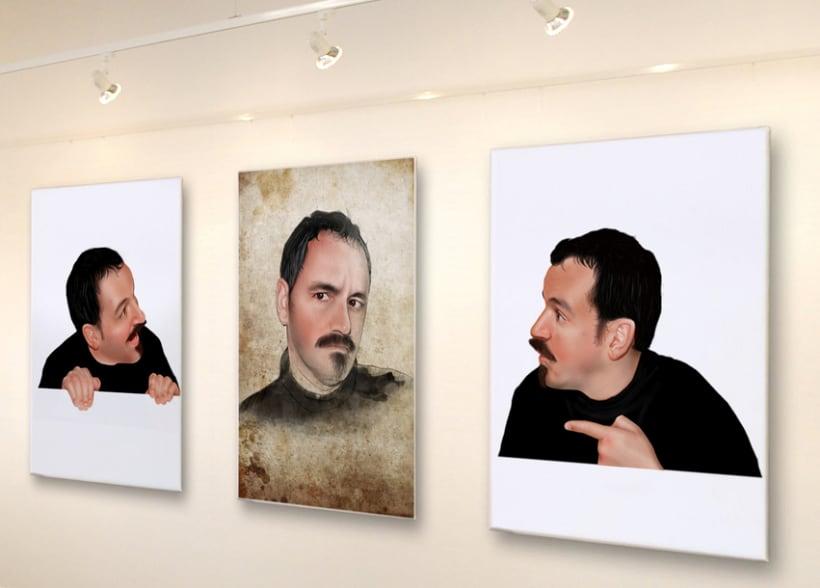 Exposición Arte Hiperrealista Martín Echeverría  Barcelona 2011 0