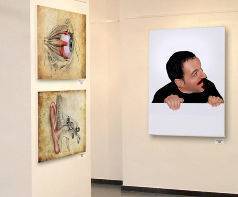 Exposición Arte Hiperrealista Martín Echeverría  Barcelona 2011 5
