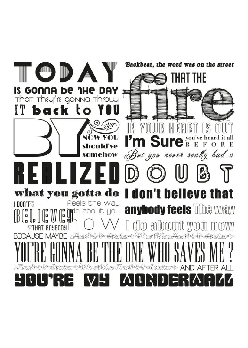 Typographic Posters 10