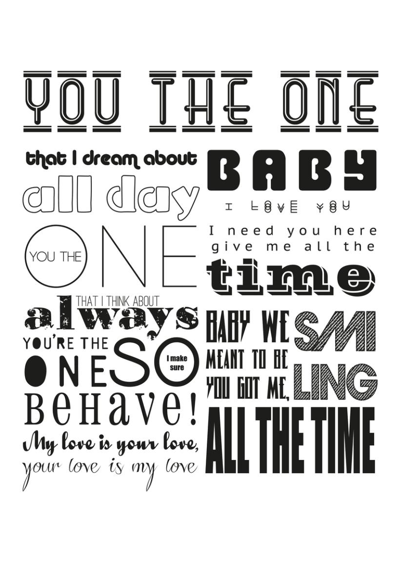 Typographic Posters 11