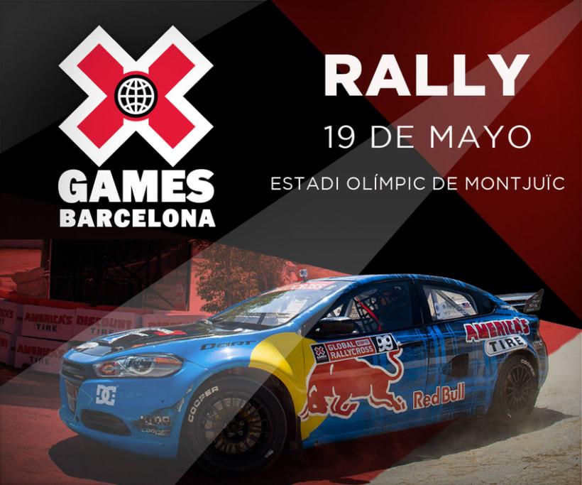 Señalética X Games Barcelona. -1