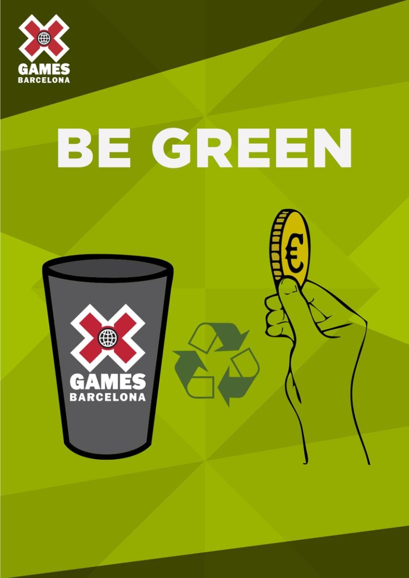 Señalética X Games Barcelona. 1