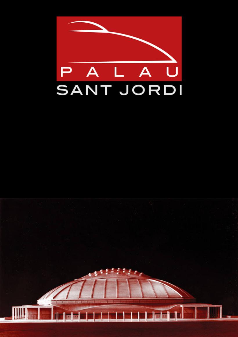Rediseño marca y señalética Palau Sant Jordi. 22