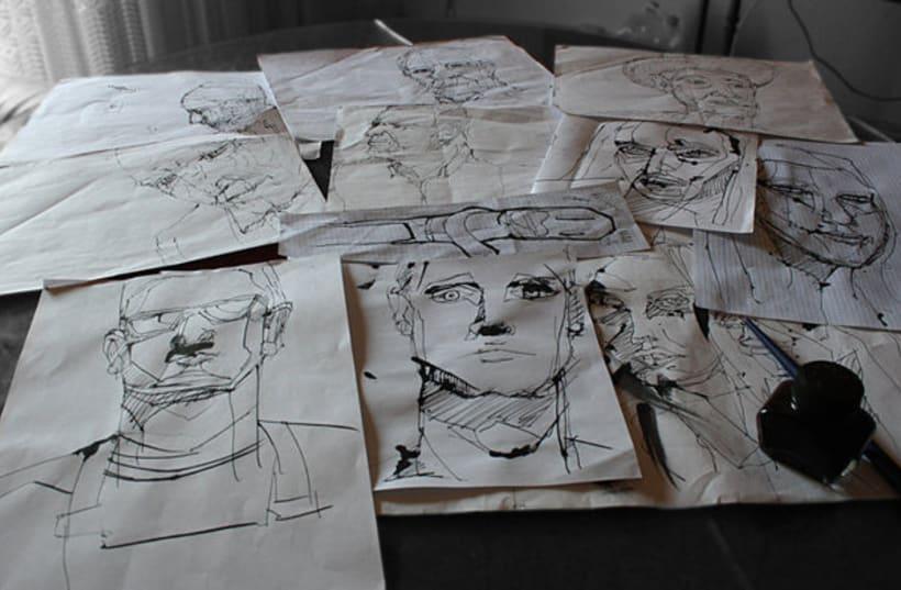 Ilustraciones tradicionales y digitales 34