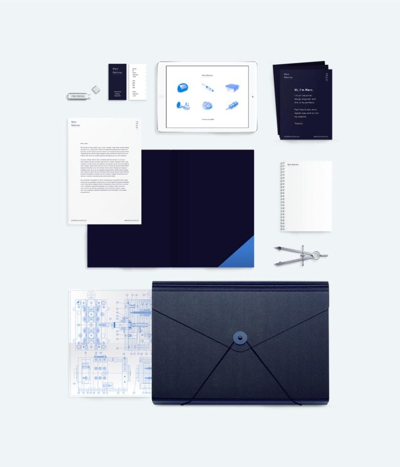 Portfolio interactivo / identidad corporativa Marc Ramirez 0