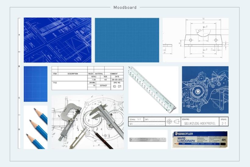 Portfolio interactivo / identidad corporativa Marc Ramirez 1