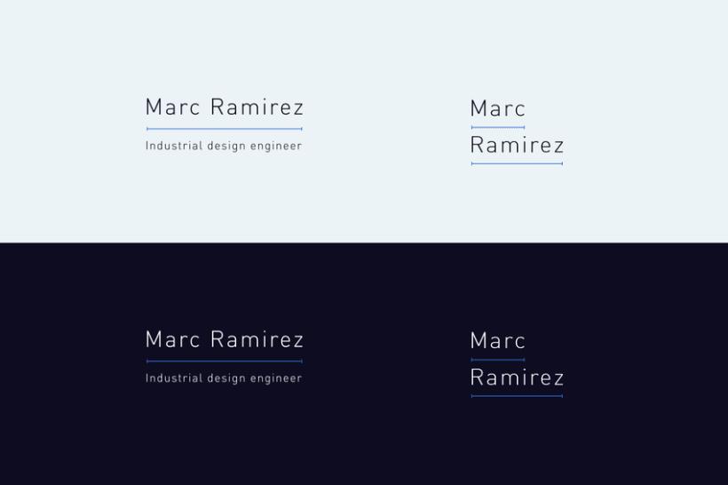 Portfolio interactivo / identidad corporativa Marc Ramirez 3