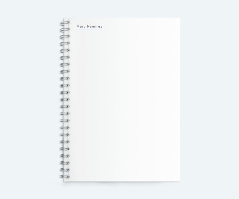 Portfolio interactivo / identidad corporativa Marc Ramirez 8