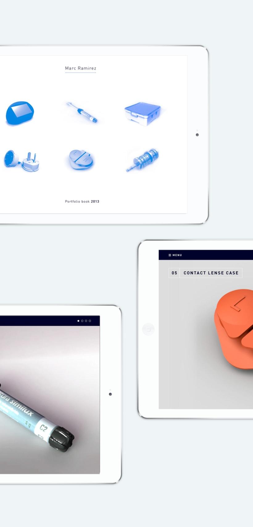 Portfolio interactivo / identidad corporativa Marc Ramirez 17