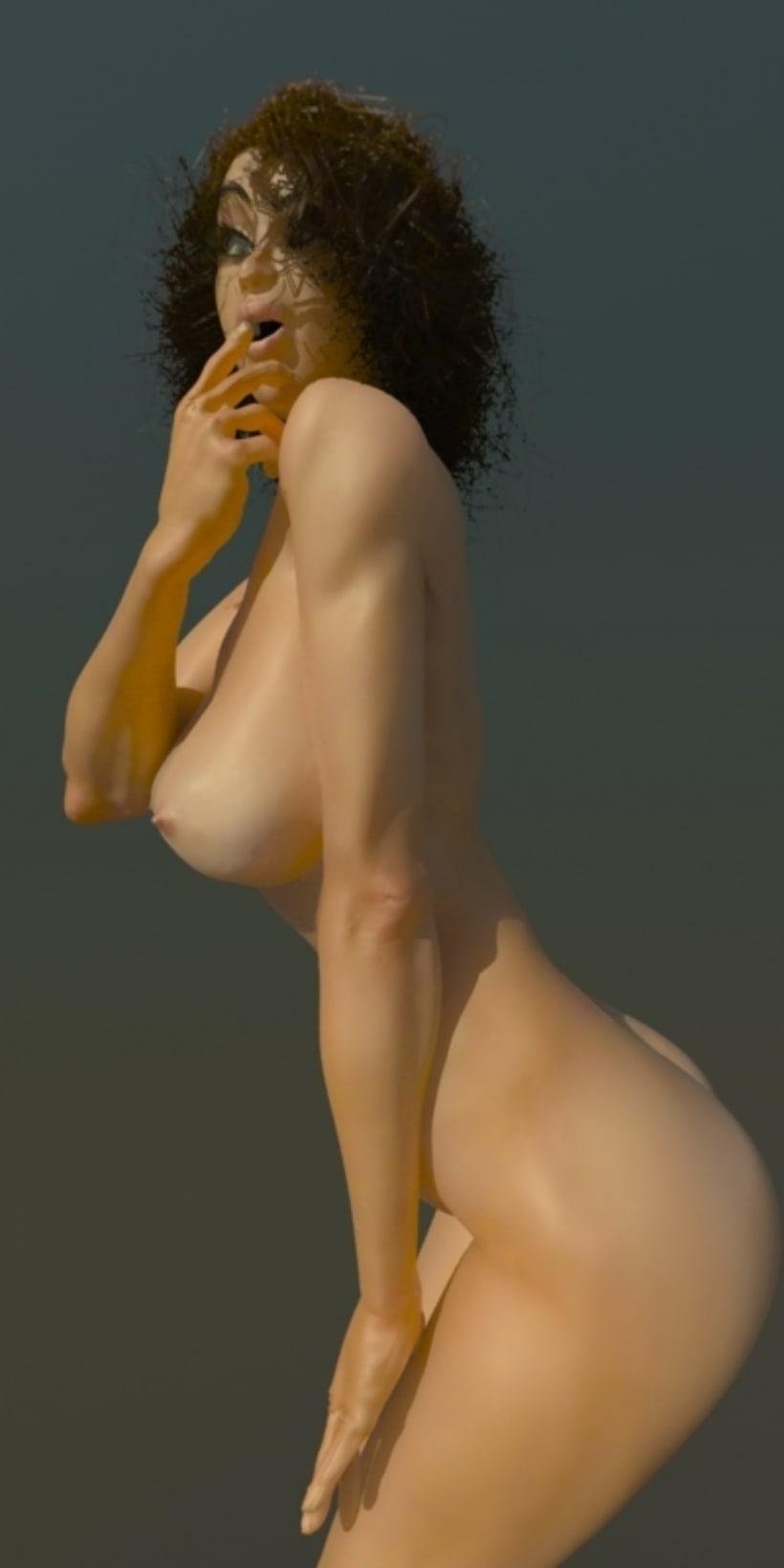 Modelado 3D women 2
