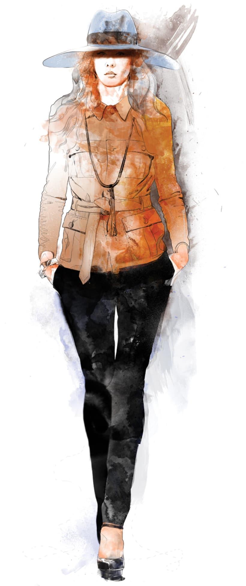 Ilustración de Moda 2